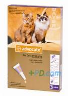 Advocate Large Cat 80 4-8kg 3pip
