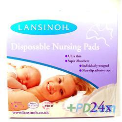 Lansinoh Disposable Nursing Pads - 24 Pads