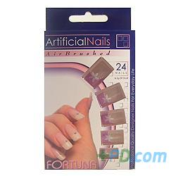 Fortuna Artificial Nails Ft-631 - 24 Nails