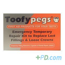 Toofypegs Emergency Temporary Repair Kit Replace Lost Fillings Crowns