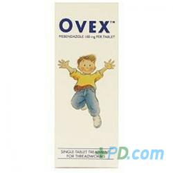 Ovex Single Tablet Treatment For Threadworms