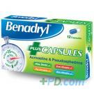 Benadryl Plus Allergy & Congestion Relief - 12 Tablets