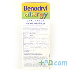 Benadryl For Children Allergy Oral Syrup 100ml