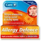 Care - Allergy defence (Contains nasalze technology) - 500mg