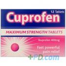 CUPROFEN TABLETS 400mg 12 Tablets
