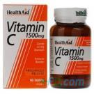 Healthaid Vitamin C 1500mg - Prolonged Release - 60 Tablets