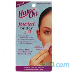 Healthaid Hair-off Facial Buffer - 6