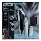Wahl Chromepro Deluxe Clipper Includes Compact Trimmer & Nasal Trimmer