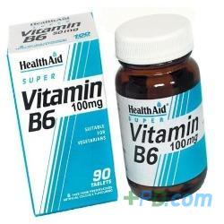 HealthAid Vitamin B6 100mg 90 Tablets